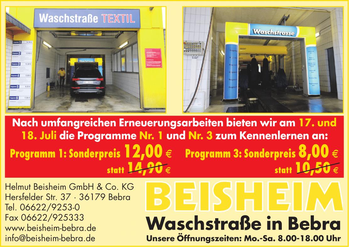 Waschstraße Aktion 2015
