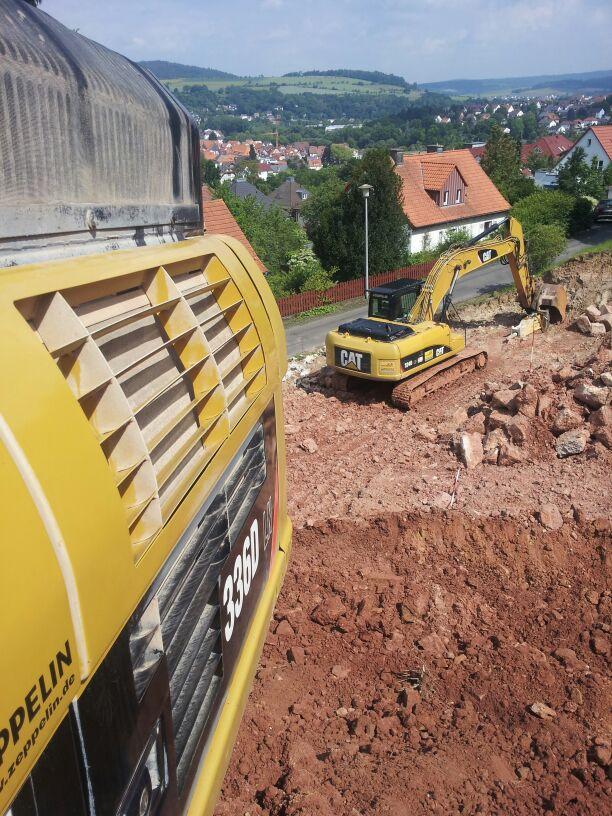 Baugrube Melsungen